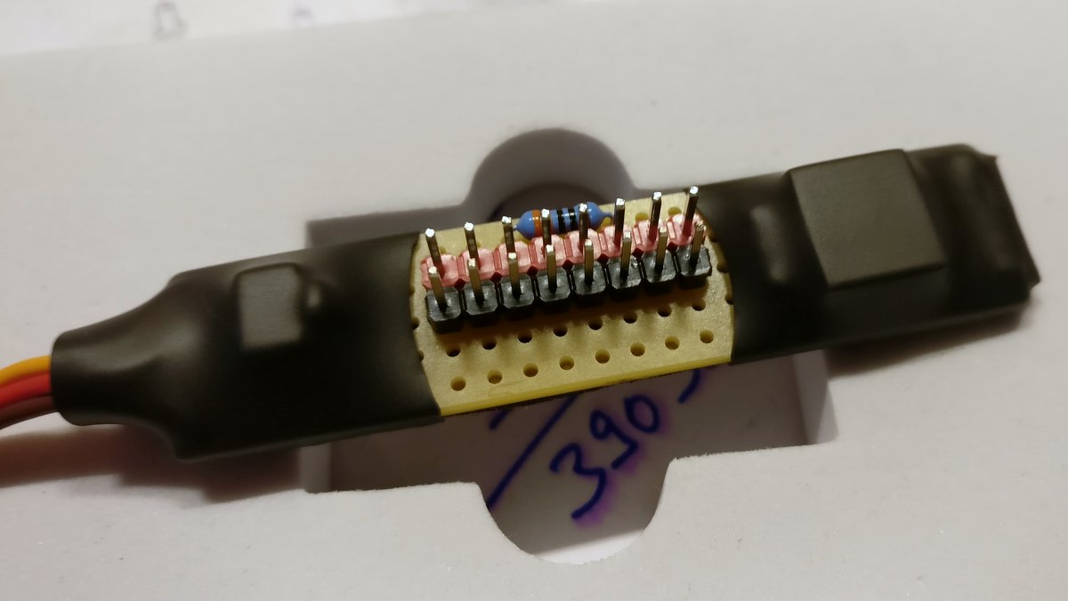 Simple MOSFET LED Switch for Pixhawk