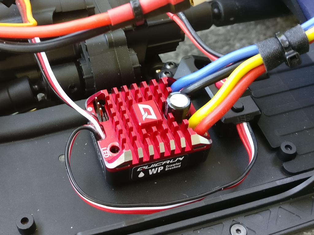 Hobbywing Quicrun WP Brushed ESC Programmierung
